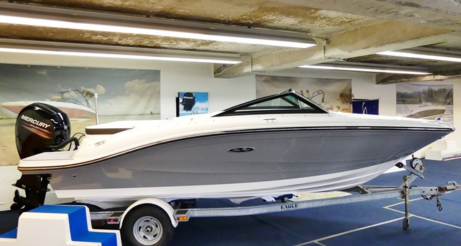 Sea Ray 190 SPOE Komplettangebot mit Trailer