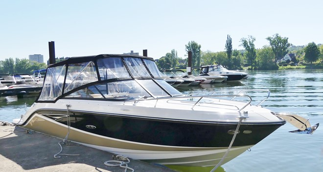 Sea Ray 250 SSE Sunsport mit Kabine