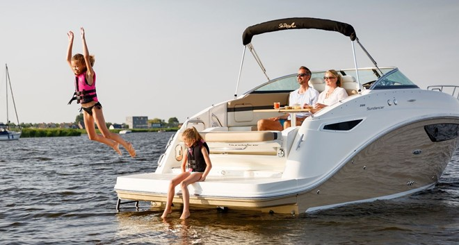Sea Ray 265 DA Sundancer ab